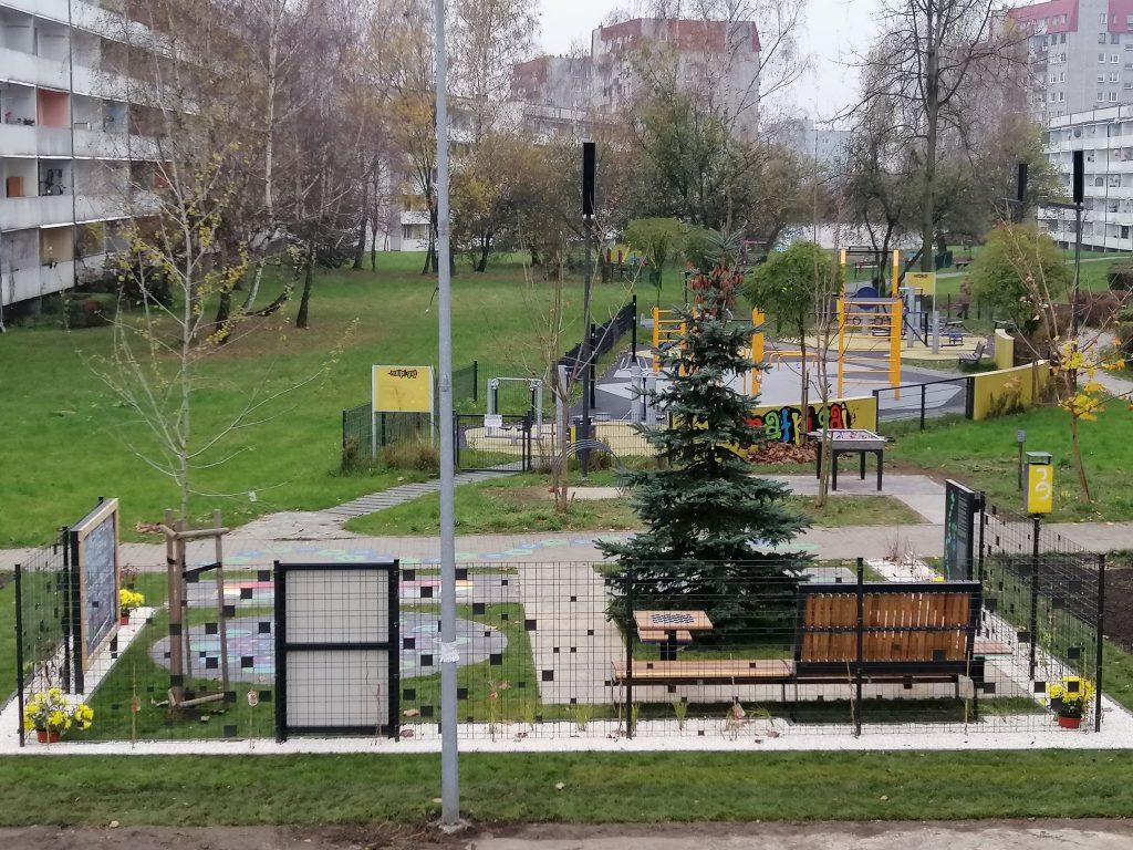 Kolejny projekt zrealizowano na Kokocińcu w ramach Budżetu Obywatelskiego