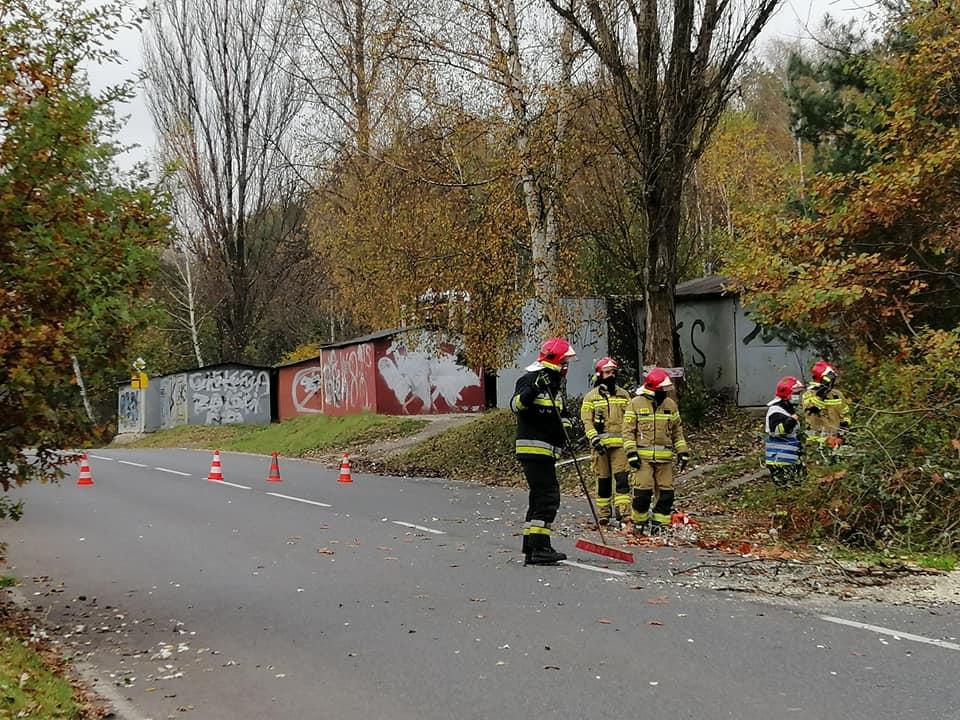 Kolejna interwencja straży pożarnej na Kokocińcu