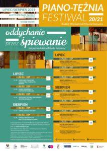 Piano-Tężnia Festiwal 20/21 & Oddychanie przez Śpiewanie