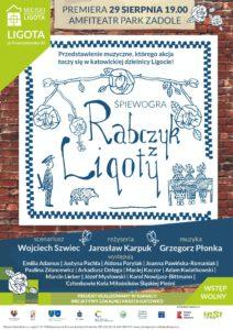 """Śląska śpiewogra """"Rabczyk z Ligoty"""" – spektakl muzyczny"""