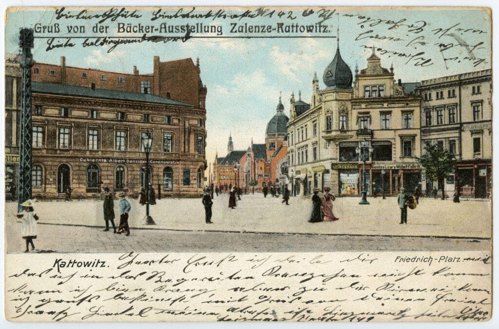 Pocztówka Archiwalna - Katowice