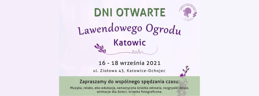 Otwarcie Lawendowego Ogrodu Katowic