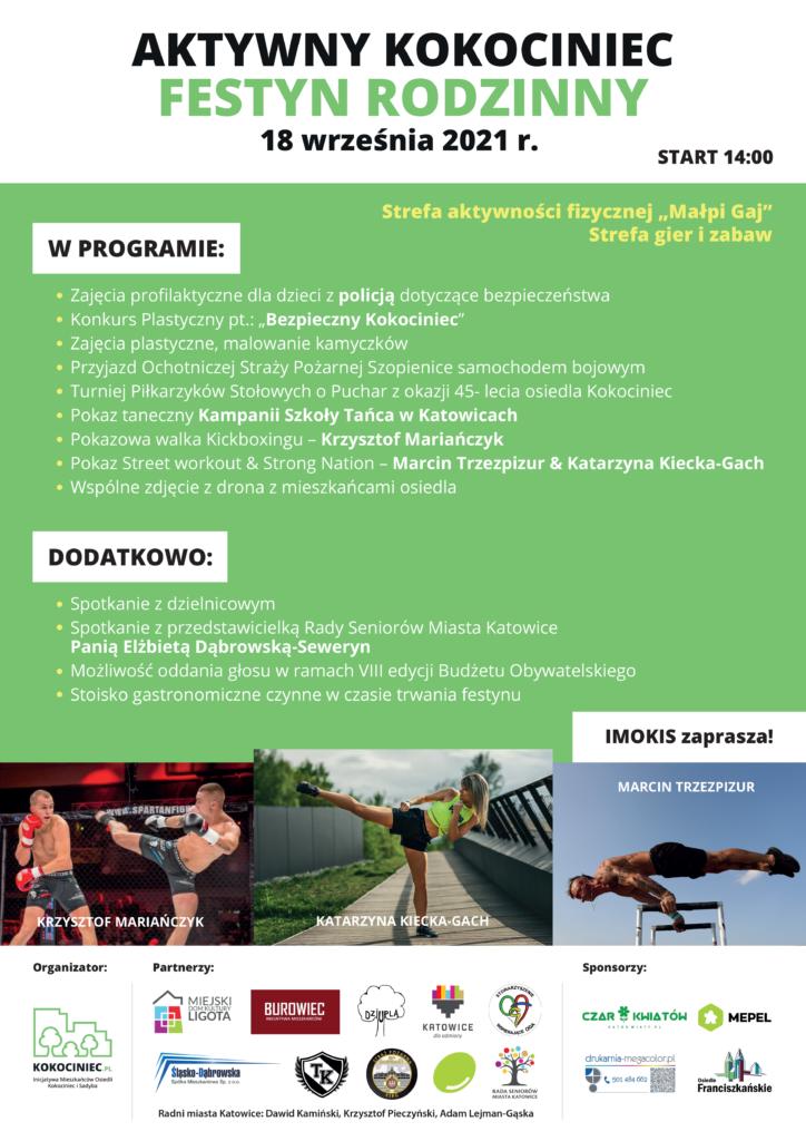 Festyn Rodzinny-Aktywny Kokociniec odwołany