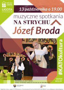 """Józef Broda w Muzycznych Spotkaniach """"Na Strychu"""""""