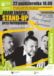 Adam Snopek – Stan-up przy fortepianie